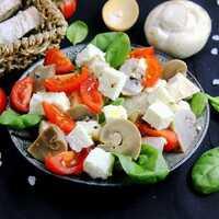 Рецепт салат из печени с солеными груздями. калорийность, химический состав и пищевая ценность.