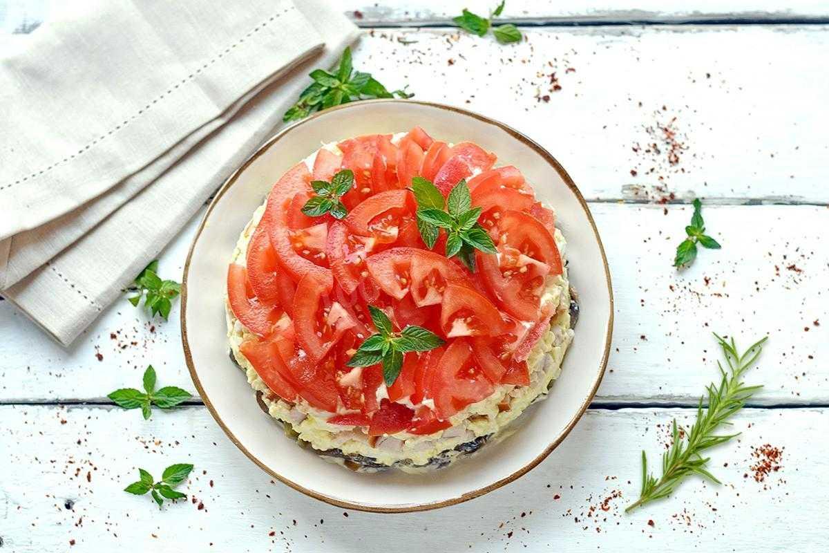 Салат любимый муж с помидорами и копченой курицей рецепт с фото фоторецепт.ru
