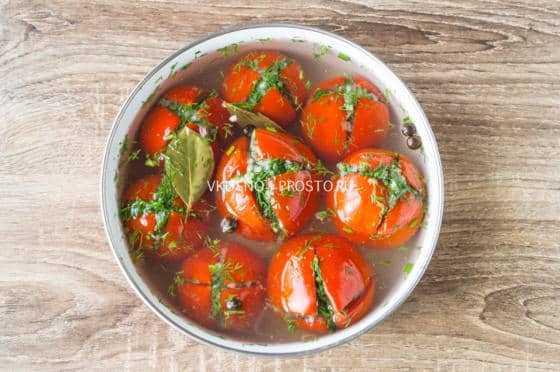 Армянчики из зеленых помидоров