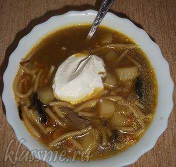 Суп из свиной рульки - наваристый и душевный: рецепт с фото и видео