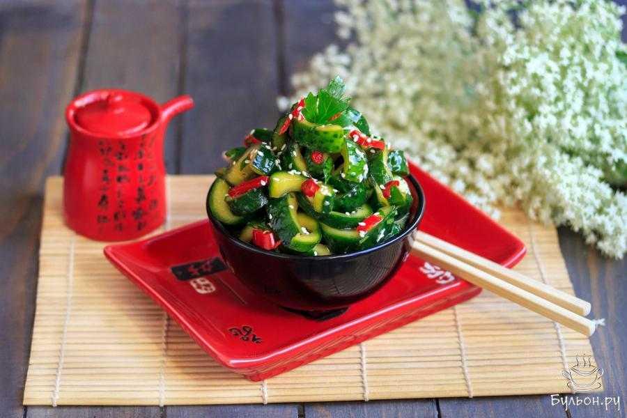 Битые огурцы: 7 рецептов по китайски