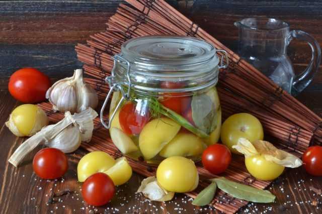 Рецепты приготовления маринованного физалиса на зиму