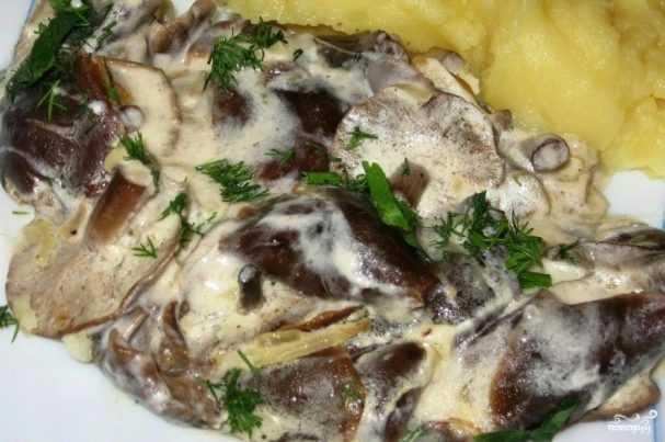 Сливочно грибной соус рецепт приготовления