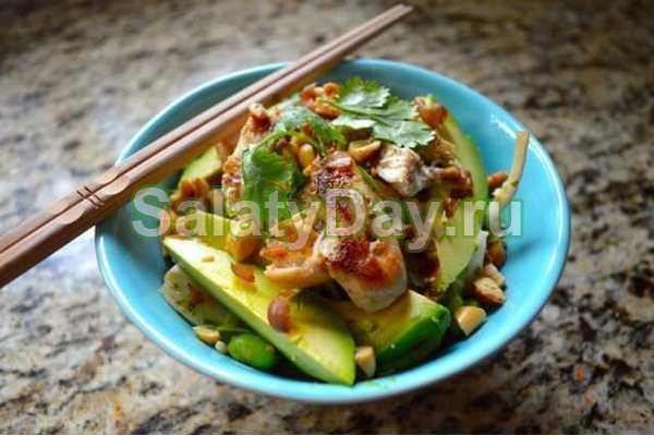 Рецепты салат из авокадо и фасоли