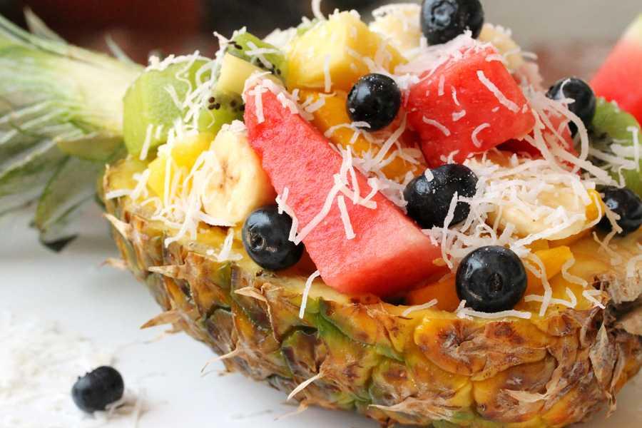 Как приготовить фруктовый салат по пошаговому рецепту с фото