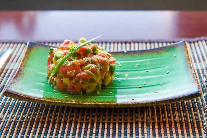 Тартар из лосося – 7 рецептов приготовления