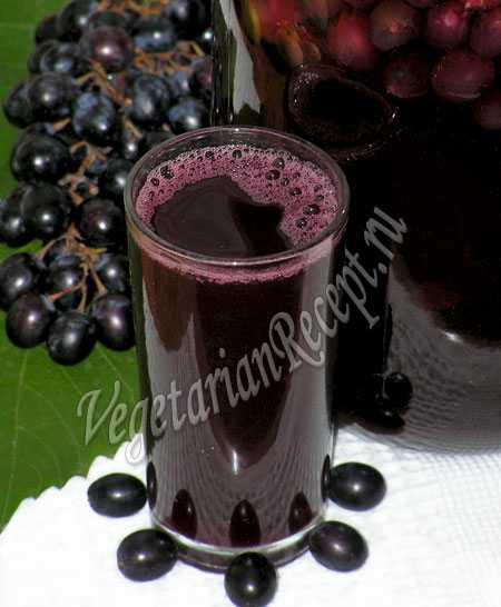 Компот из винограда на зиму — рецепты заготовок