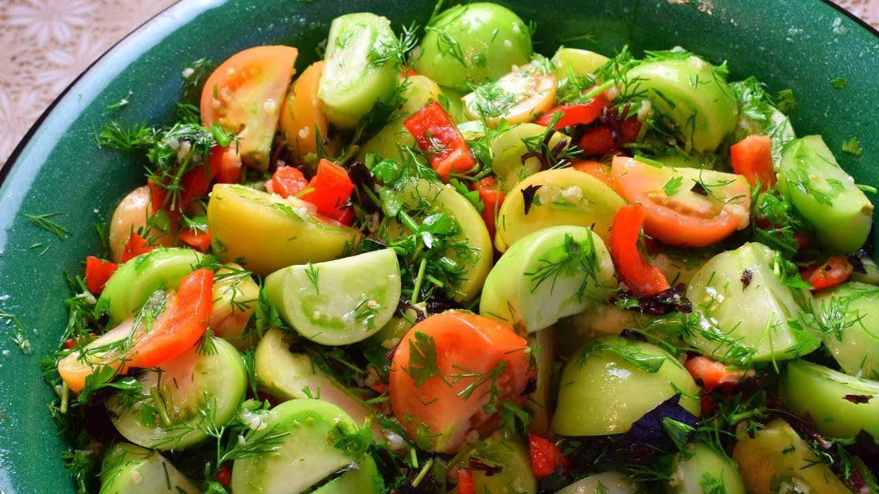 Зеленые помидоры на зиму - простые и вкусные рецепты