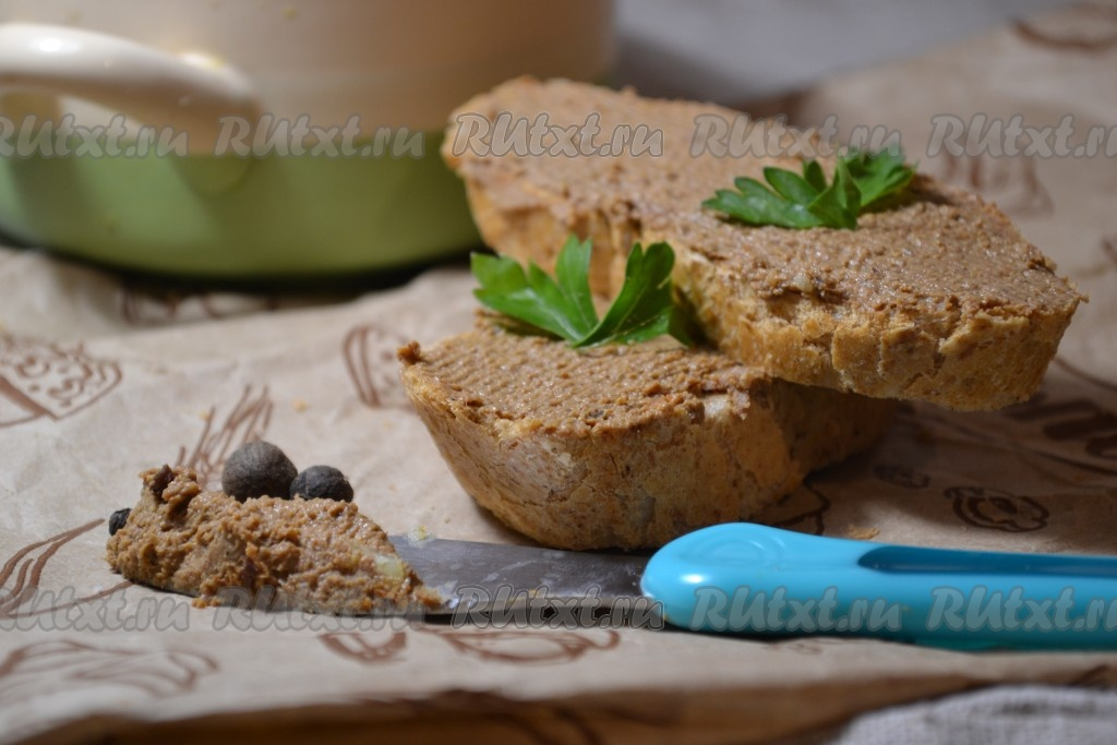 Рецепт паштета из печени индейки в домашних условиях