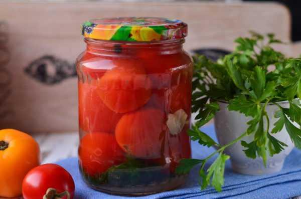 Маринованные помидоры по-болгарски на зиму - кушаем вкусно