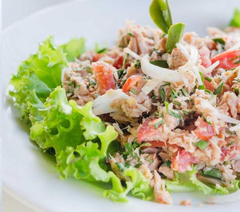 Салат с тунцом - для настоящих ценителей! рецепт с фото и видео