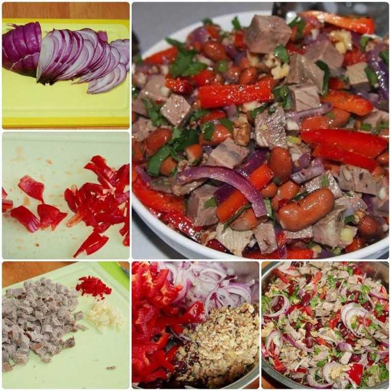 Грузинский салат рецепт классический
