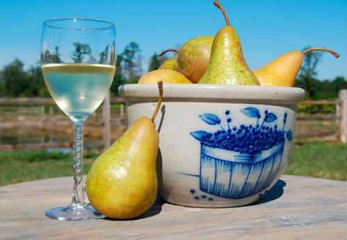 Домашнее вино из груши: простой рецепт