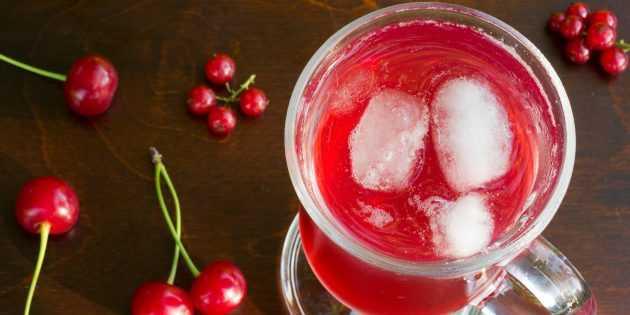 Рецепты компота из красной смородины на зиму: как варить с апельсином и мятой, приготовить без стерилизации и простой вариант консервации свежей ягоды