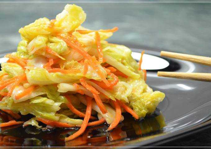 Цветная капуста, маринованная по-корейски