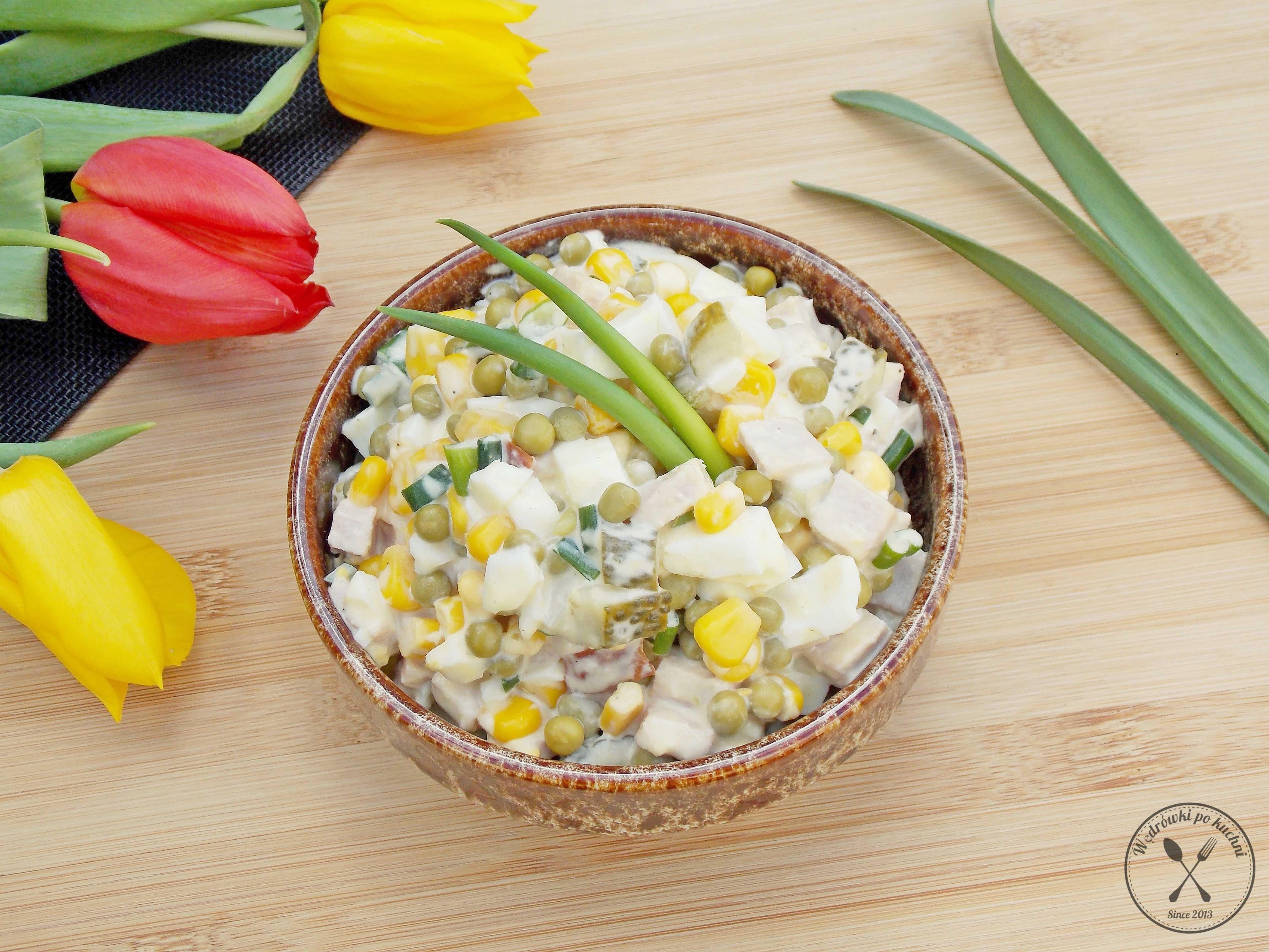 Простые салаты: ингредиенты, рецепты, советы по приготовлению - samchef.ru