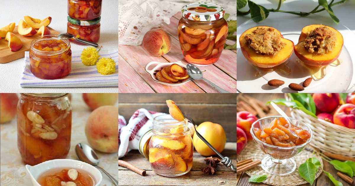 Персики в собственном соку на зиму без стерилизации