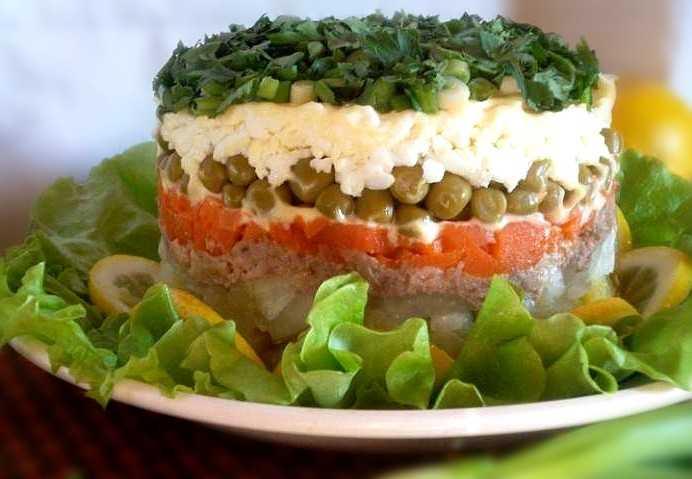 Салат из печени трески классический рецепт с фото фоторецепт.ru