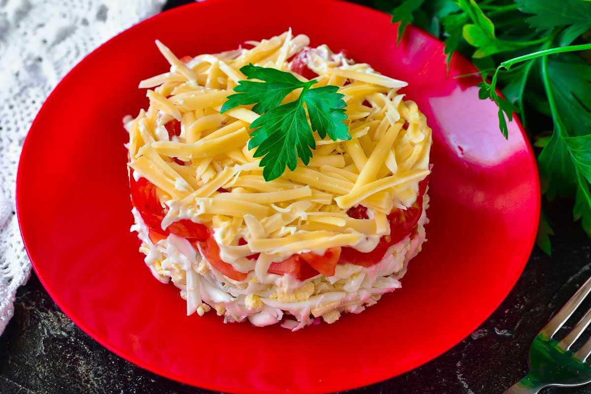 Салат с помидорами и сыром – 9 рецептов салата