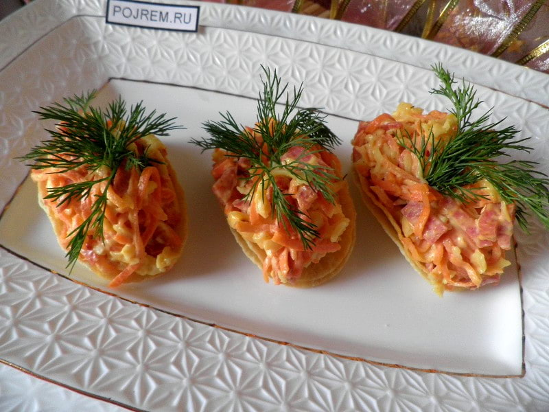 Закуска на чипсах: пошаговый рецепт с фото