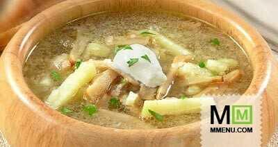 Груздянка суп из соленых груздей