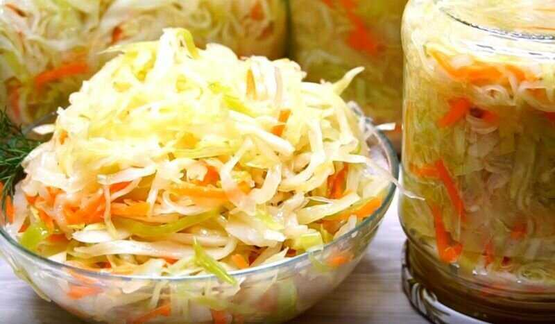 Засолка капусты в банках: очень простые рецепты самой популярной закуски на зиму