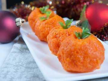 Сырная закуска мандарины: острая, из моркови - советы дачнику