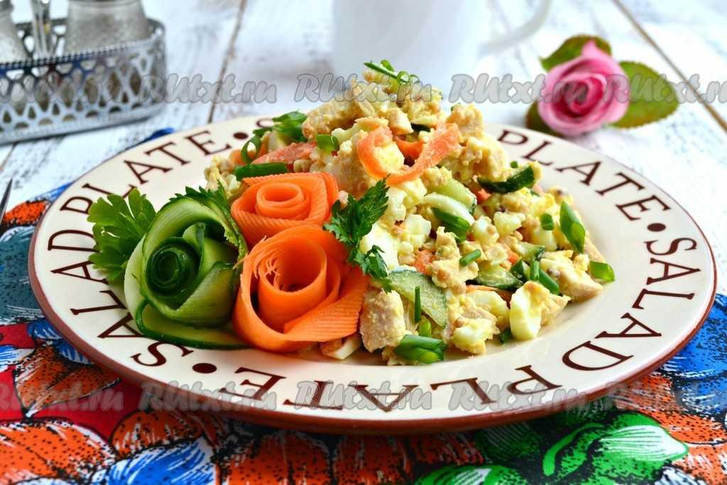 Простой и вкусный салат прага с ветчиной, курицей и черносливом - советы и секреты приготовления