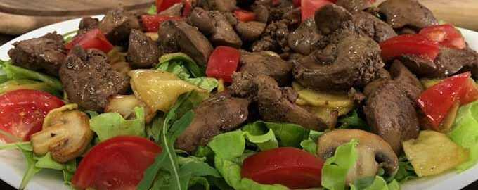 Салат с вешенками: рецепты с фото и видео