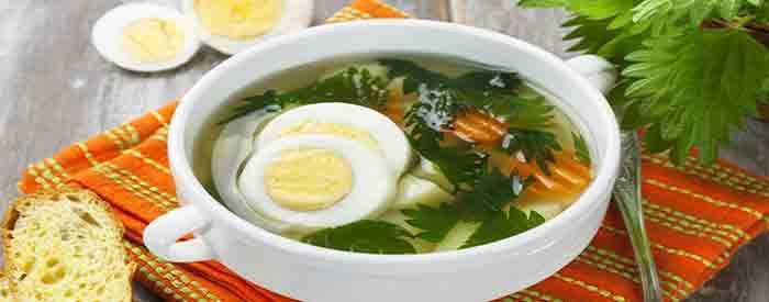 Суп из крапивы — пошаговый рецепт с фото