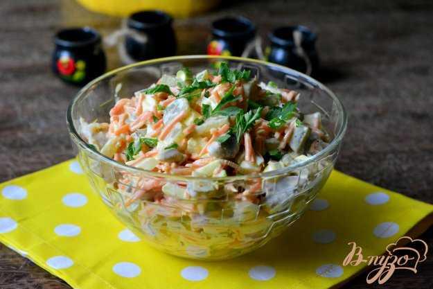 Салат из куриных желудков: рецепт с фото очень вкусный – рецепты с фото