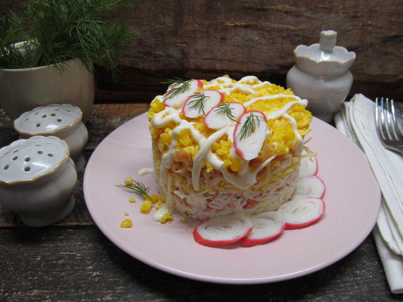 Салат из крабовых палочек – рецепт самый вкусный, быстрый и простой, натуральный + фото