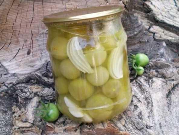 Маринованные зеленые помидоры на зиму — вкусные рецепты пальчики оближешь