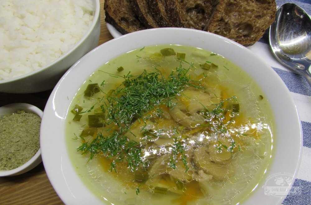 Суп пюре из шампиньонов и картофеля