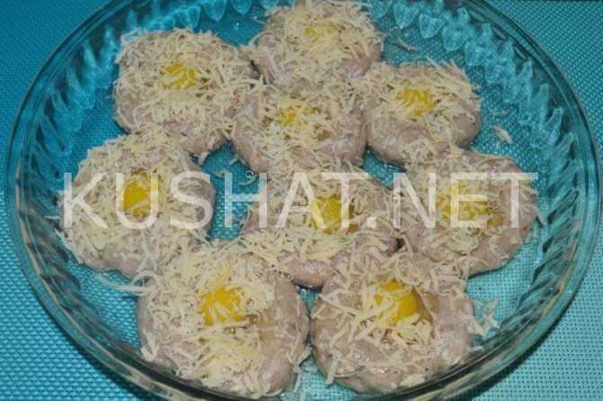 Салат ласточкино гнездо с перепелиными яйцами