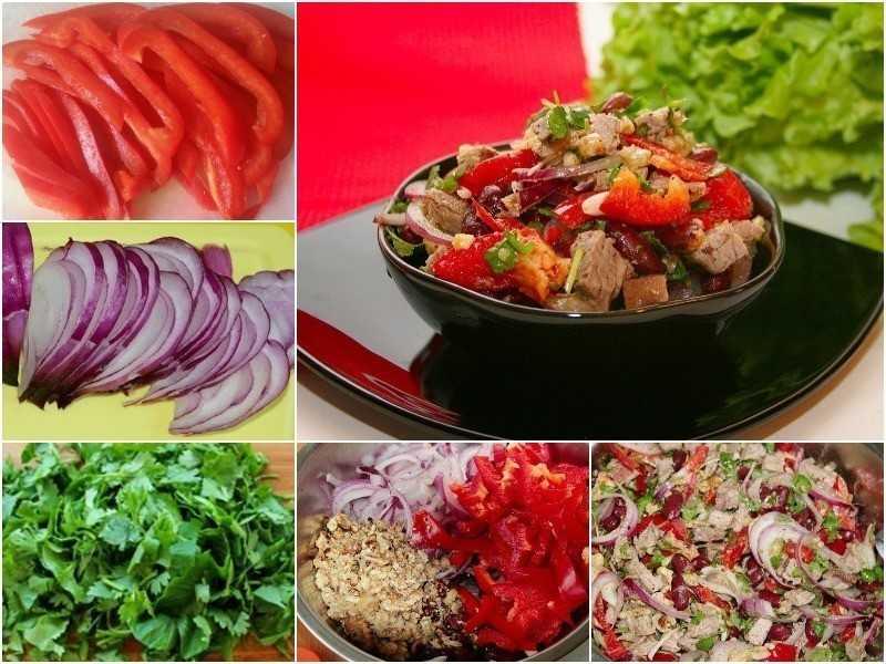 Как приготовить салат тбилиси по рецепту с фото