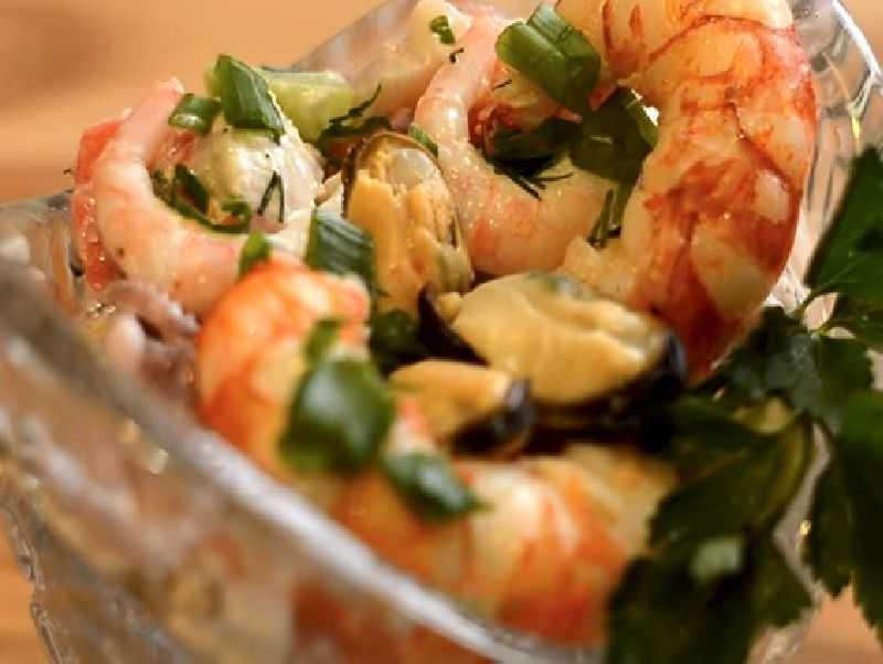На сайте все, что нужно для приготовления рецепта Салат Морской бриз,  советы, пошаговые фото, порядок приготовления, похожие салаты, состав, комментарии