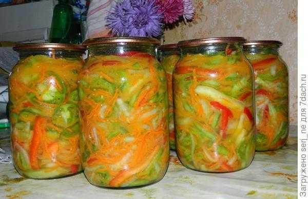 Рецепт салата из зеленых помидор с чесноком: подборка лучших рецептов приготовления.