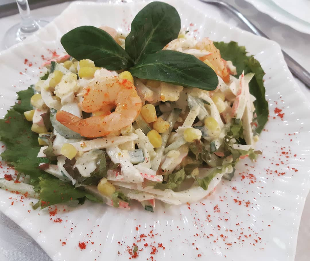 Постный салат с кальмарами – богатая палитра кулинарных возможностей: рецепт с фото и видео