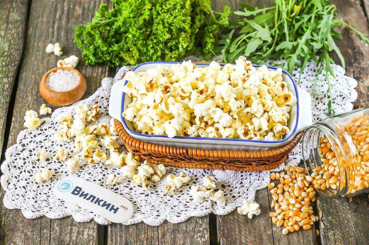 Рецепты с попкорном салат
