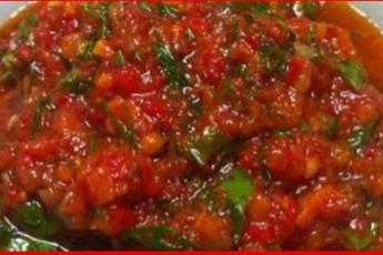 Острая аджика — рецепты приготовления