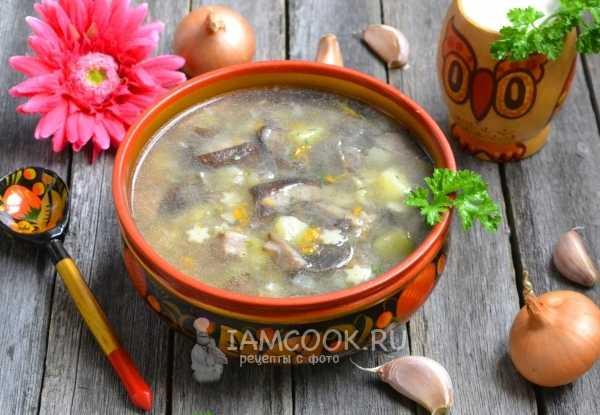 Рецепт грибного супа из подберезовиков : 6 пошаговых рецептов