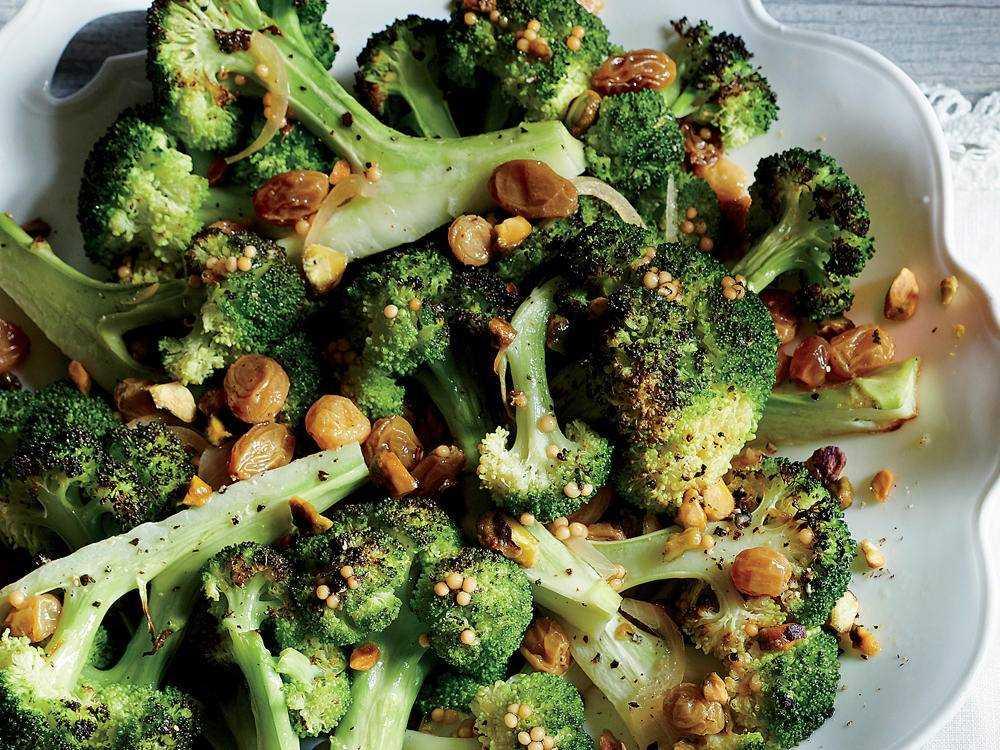 Рецепты брокколи с орехами