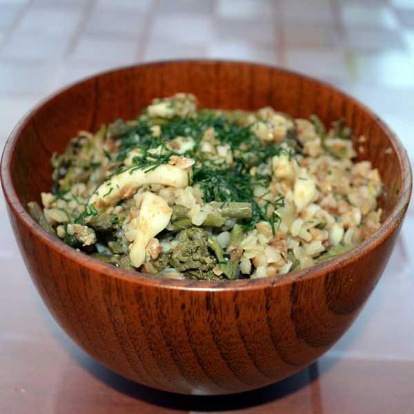 Салат из папоротника соленого