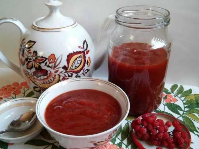 Варенье из красной рябины: рецепты