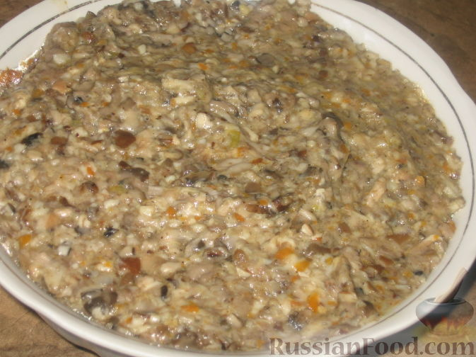 Грибная икра на зиму из вареных грибов — рецепты приготовления через мясорубку с луком