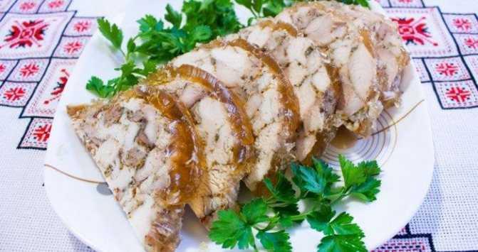 Куриная колбаса с желатином рецепт с фото пошагово и видео - 1000.menu