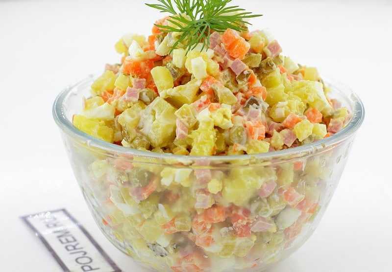 Рецепты зимнего салата как сделать зимний салат