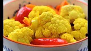 Рецепты маринованной цветной капусты - со вкусом