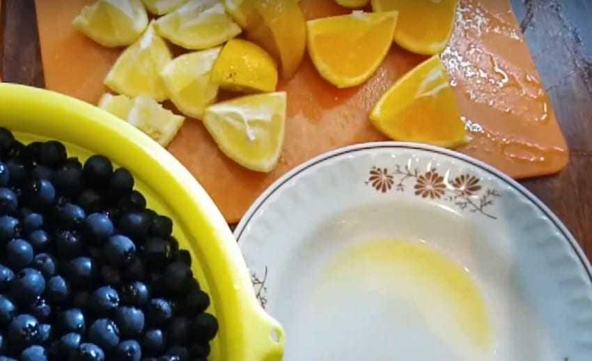 Варенье из черноплодной рябины с апельсином и лимоном